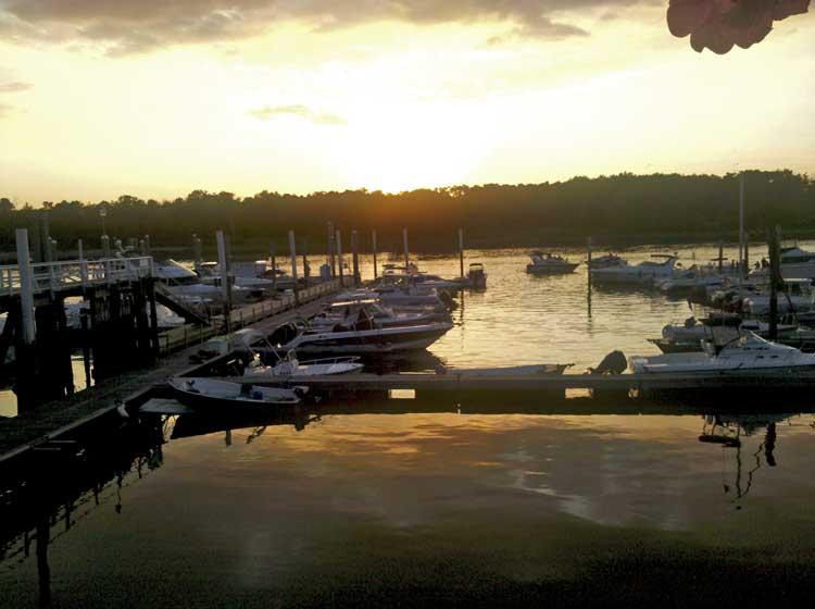 City Island Sunset